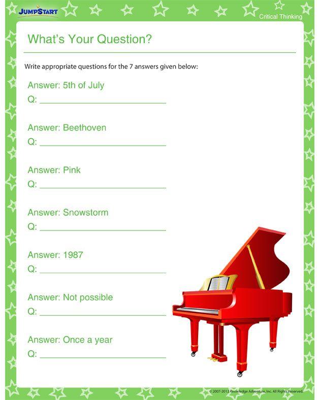 Analogies Worksheets   FREE Printable Worksheets     Worksheetfun Pinterest Animal Kingdom   Free Critical Thinking Worksheet for Kids