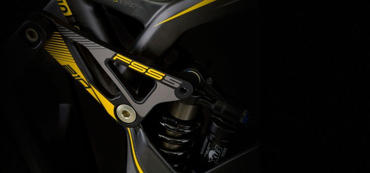 FSS suspension technology combined with Fox rear suspension. Smooth movement, long life and top quality!