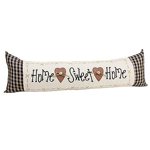 Home sweet home draught excluder