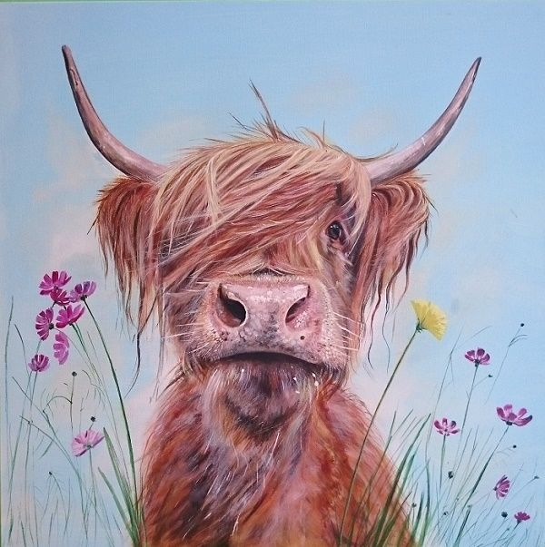 Best 25 Cow Painting Ideas On Pinterest Cow Art