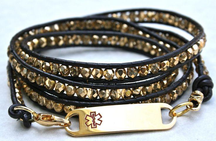 1000 Ideas About Medical Alert Bracelets On Pinterest
