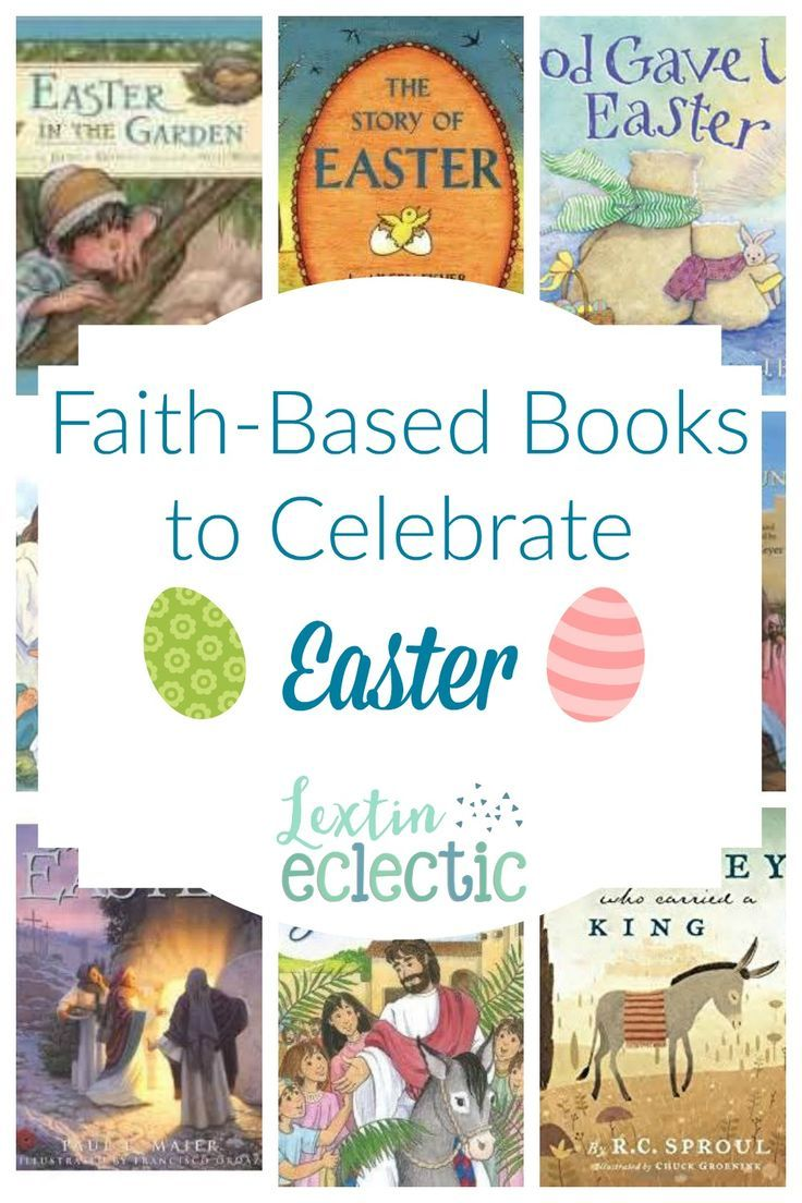 Easter is almost here so we've been preparing with some faith-based Easter books. How do you celebrate your holidays? At our house, books are always part of the celebration. If you need some faith-filled books for the Easter season, enjoy this booklist! E