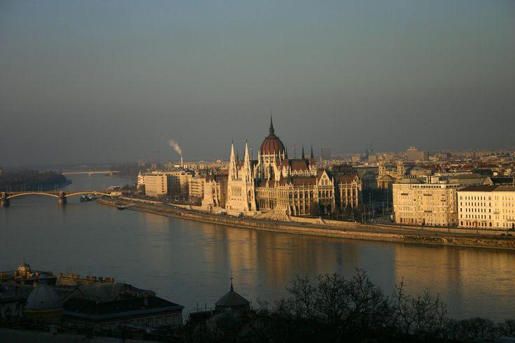The parliament building. Budapest