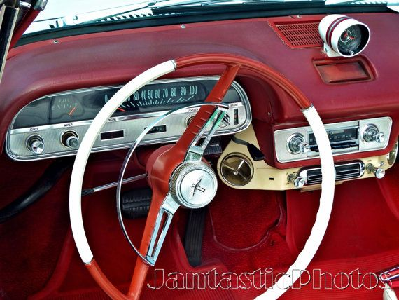 corvair dashboard photograph 1964 chevrolet chevy steering wheel dash instant download photo. Black Bedroom Furniture Sets. Home Design Ideas