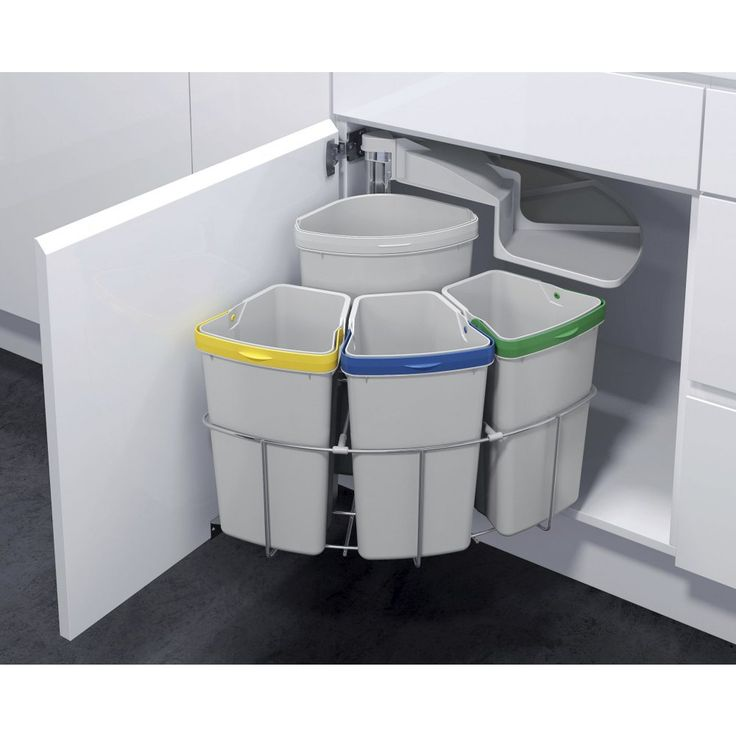 Vauth-Sagel Oko Centre 39L Swing Out Recycler - 4 Compartments
