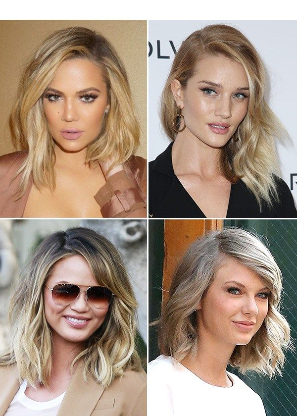 How To Rock The Sexy, Tousled Bob Seen On Chrissy Teigen & Khloe Kardashian