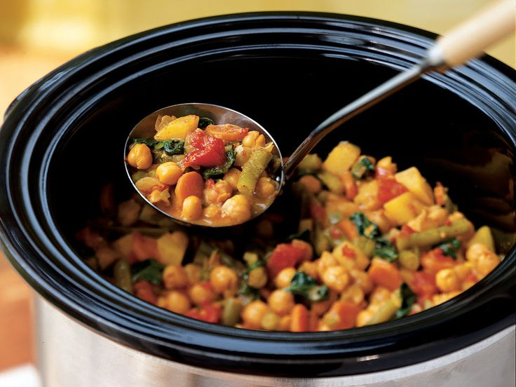 Aromatic Indian spices mingle with chickpeas, green beans, and potatoes. Coconut milk is stirred into the cooked curry for a creamy...