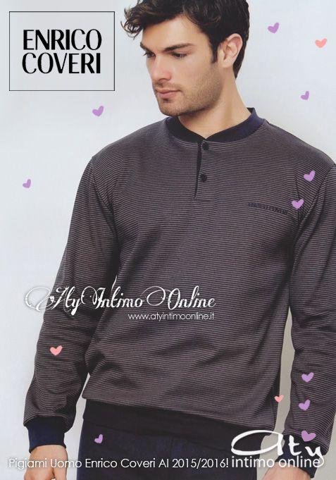 Nuova collezione Coveri Homewear Pigiami Autunno/Inverno 2015/2016! Eleganza casual e qualità con i modelli di classe della Collezione Homewear. #pigiami #moda #inverno http://www.atyintimoonline.it/213-pigiami-uomo-invernali