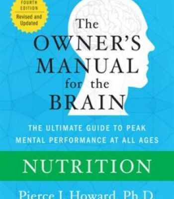 The Owner'S Manual For The Brain: Nutrition PDF