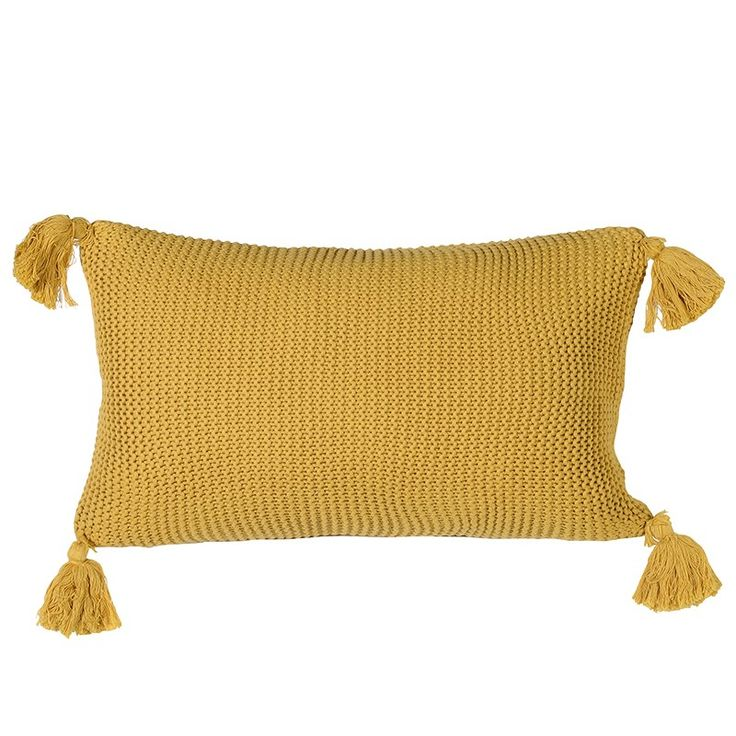 Love this Knitted Mustard cushion , looks fantastic with Grey tones!