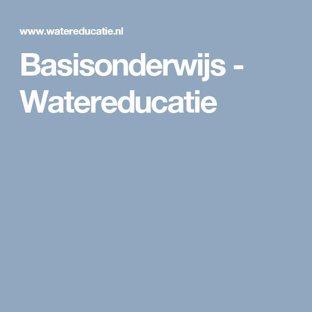 Basisonderwijs - Watereducatie