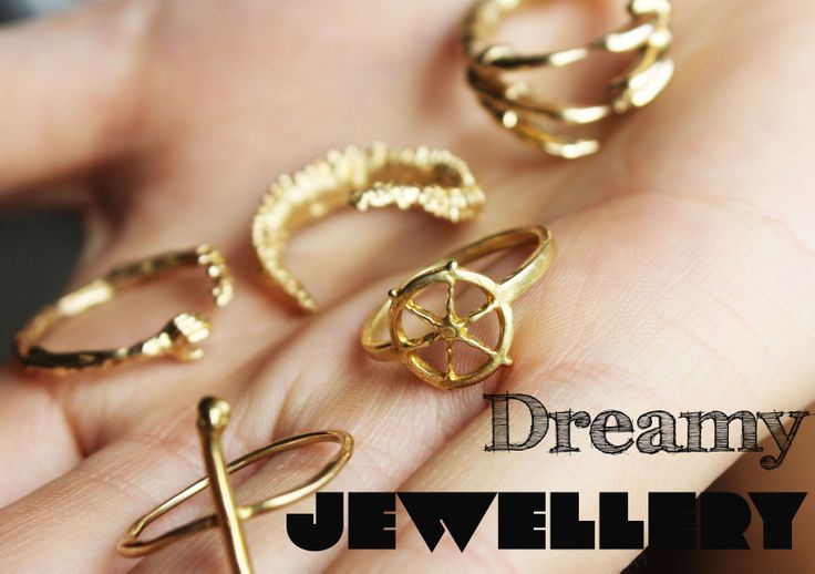 Dreamy Rings from new Irish store APRIL AND THE BEAR - rings start from €50. Fabulous gift ideas.  www.aprilandthebear.com