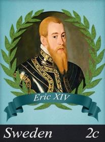 House of Vasa:  Eric XIV