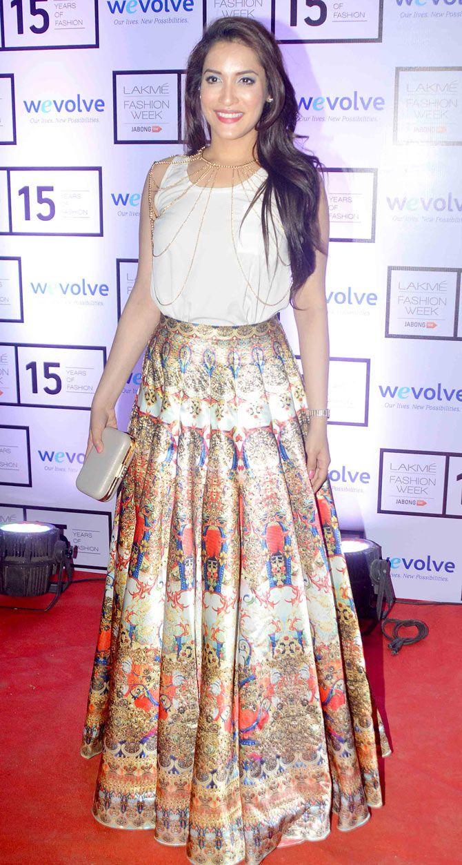 Rashmi Nigam on Day 1 of the Lakme Fashion Week 2015. #Bollywood #Fashion #Style #Beauty #LFW15