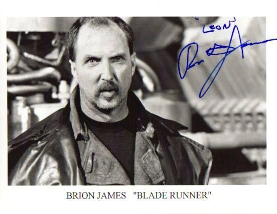 Brion James as Leon Kowalski in Ridley Scott's Blade Runner (1982)