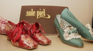 """Fallera"" shoes by Sole Piel, Valencia"