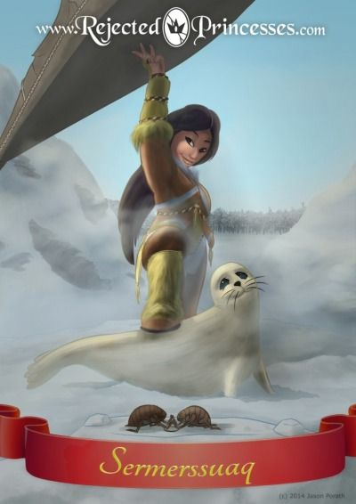 Rejected Princesses: Sermerssuaq - the strongest, strangest Inuit