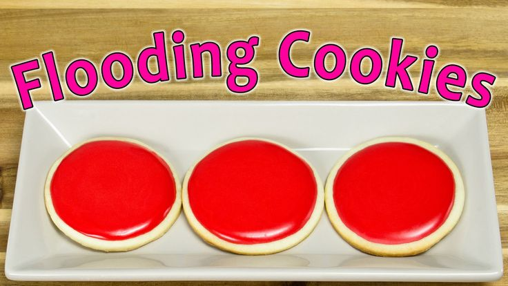 * Flooding Cookies with Royal Icing by Cookies Cupcakes and Cardio