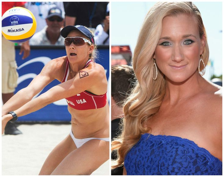 Kerri Walsh Jennings  The Californian beach babe is a beach volleyball professional and is a triple Olympic gold medal winner. Walsh's career is a successful one until these days and her latest appearance was at the Rio Olympics this year. She is considered the most medal decorate beach volleyball player in history – male or female.