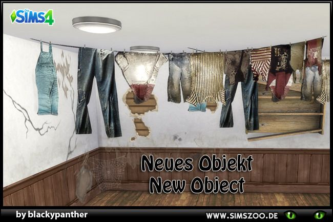 """blackyssims4zoo: """" Decor clothes line converted by blackypanther. Details and download at the Simszoo (free registration required) Find this and a lot more at the Simszoo! Need help with registration? Have a look here! If you play Sims 3 and/or Sims..."""