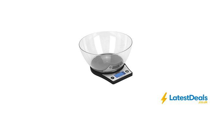 Duronic Kitchen Scale 5kg & 2 Litre Bowl, £7.99 at Amazon