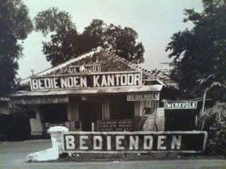 Kantor penyalur pembantu jaman Belanda, 1934