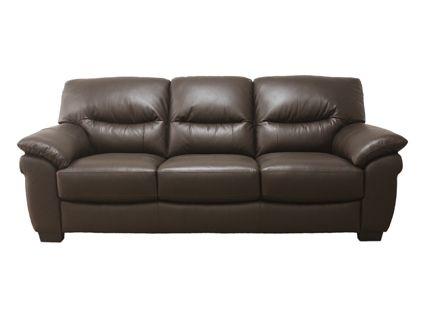 Millan express 3 seater sofa in chocolate