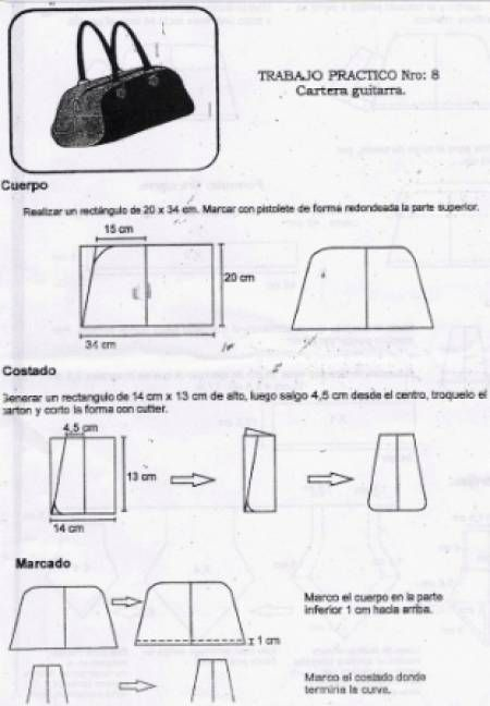Patrones de carteras y bolsos - Imagui