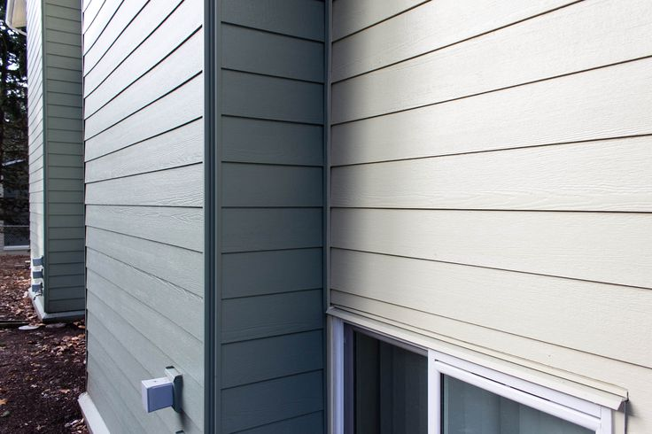 Allura Close Up Fiber Cement Siding Architecture