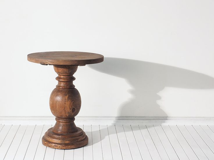 Truly one-of-a-kind, this hand turned pedestal side table is crafted from recycled pine and will be a beautiful edition to your furniture collection. Limited stock available. Order yours online TODAY. https://www.earlysettler.com.au/made-for-today