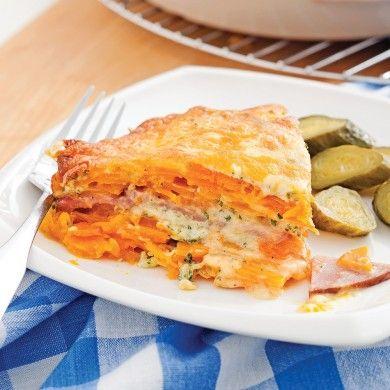 Gratin à la courge et au jambon - Recettes - Cuisine et nutrition - Pratico Pratiques