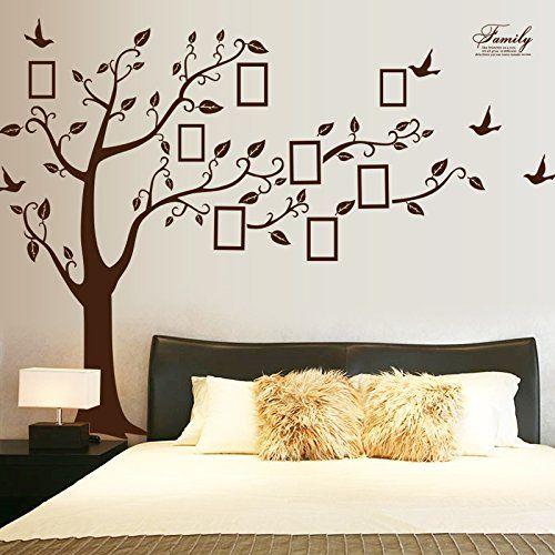 Die besten 25+ Braunes Wanddekor Ideen auf Pinterest Grau - wandtattoo braune wand