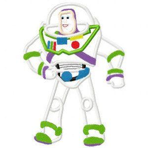Buzz Lightyear Embroidery Design Free