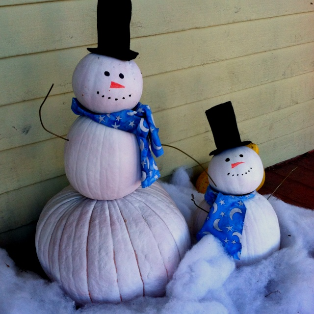 18 best pumpkin snowmen images on pinterest pumpkin for Snowman faces for crafts