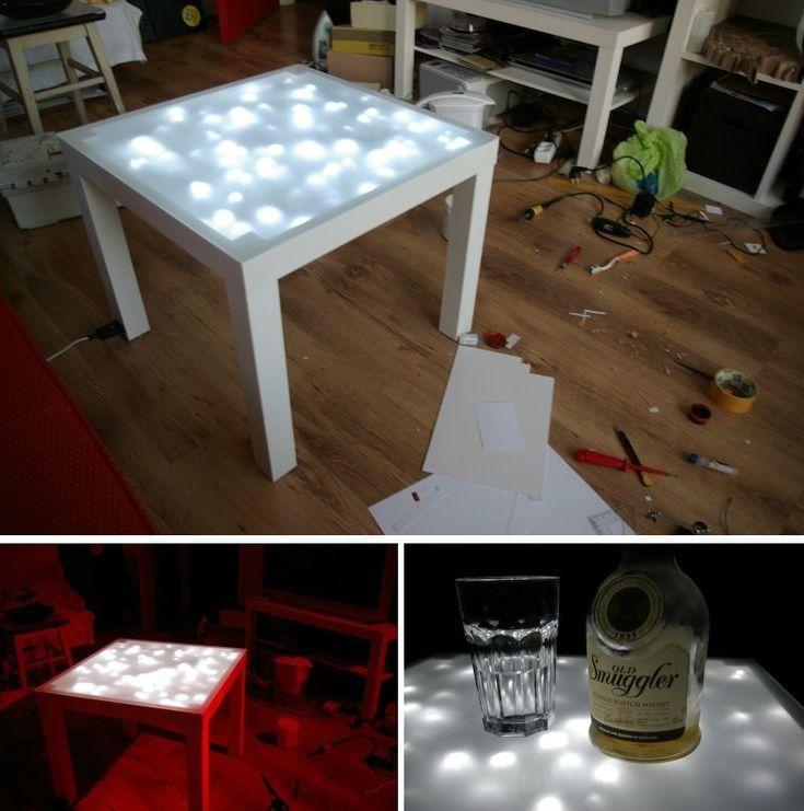 15 DIY Ikea Lack Tisch Makeovers, die Sie zu Hause ...