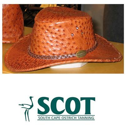 Wouldn't this be the ideal gift for a man, who loves spending time outdoors? #ostrichleather hat from Jacaru leather in Australia. #ostrich #hats