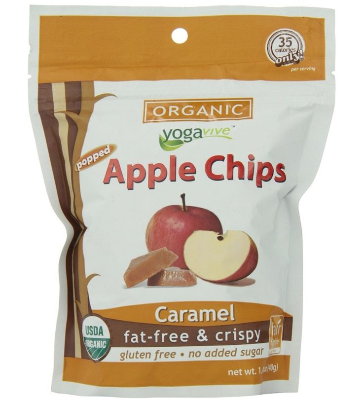 Apple chips calories