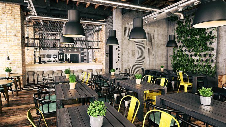 Projekt restauracji/ Wrocław on Behance