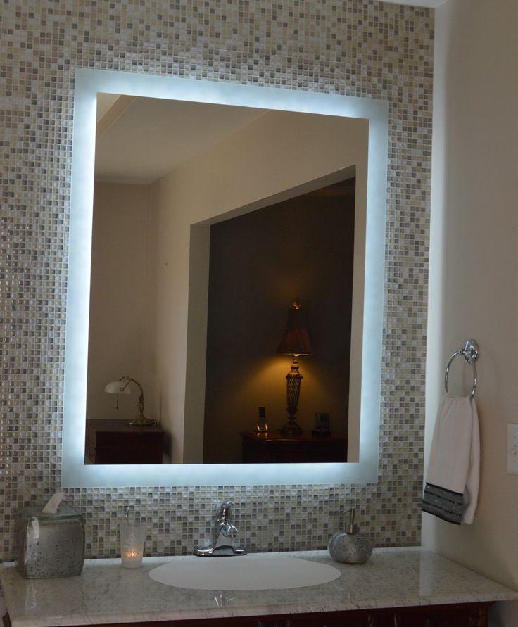 Beleuchteter Badezimmer Spiegel