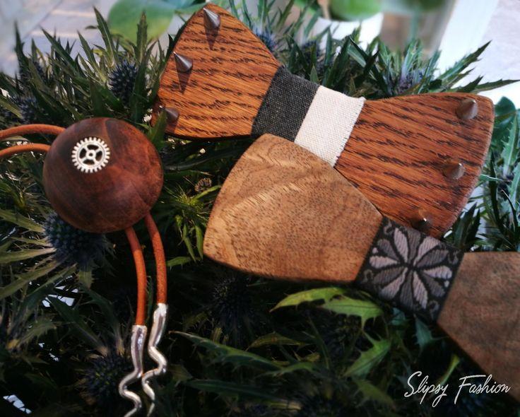 Handcrafted wooden Accessories bowtie Bolo Tie BoloTie