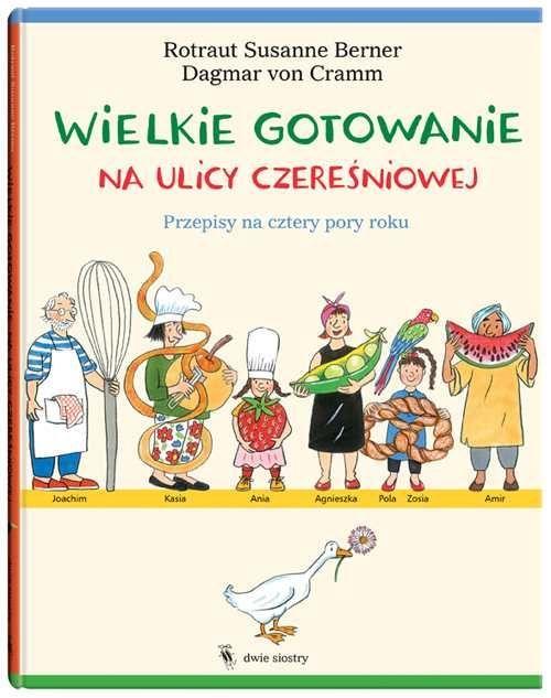 Cena: 42.00zł. Eksresowa wysyłka od ręki. WIELKIE GOTOWANIE NA ULICY CZEREŚNIOWEJ dla dzieci od 6+... więcej na www.Tublu.pl #tublu #tublu_pl #zabawka #zabawki #dla #dzieci #toy #for #kid #doll #cooking #player #zabawa #w #gotowanie #przepisy #recipes #książka #książki #books