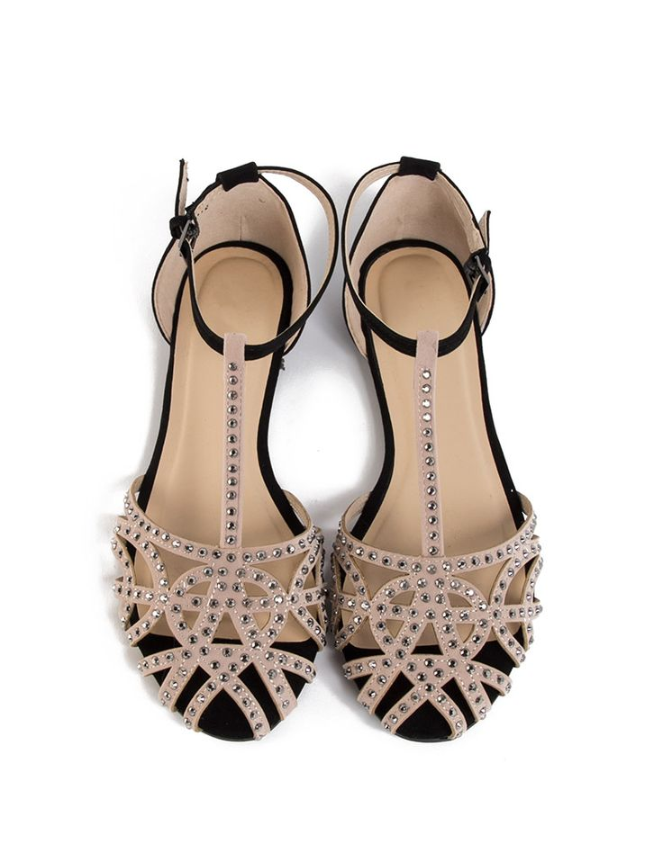 My most complimented item in my closet and way cheaper than the ones I bought from Zara.   Jeweled Netted Flat Sandals - more coming soon! 21.00!