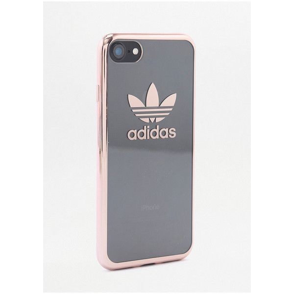 adidas Rose Gold iPhone 7 Case ($41) ❤ liked on Polyvore featuring accessories, tech accessories, assorted and adidas
