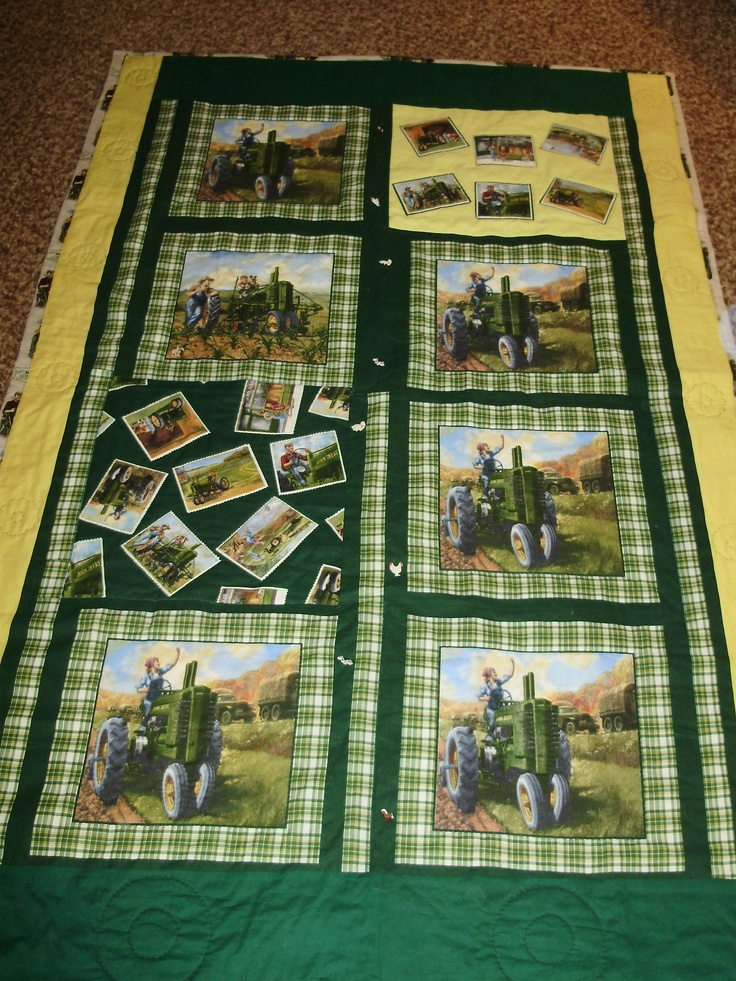 24 Best Images About Tractor Quilt On Pinterest Fat