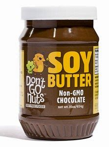 "Don't Go Nuts: Chocolate Soy Butter NON-GMO, Vegan, Gluten Free, Peanut Free, Tree Nut Free ""Nut Free Nutella""!!"