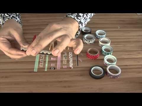 ¿Cómo decorar pinzas para la ropa? - YouTube
