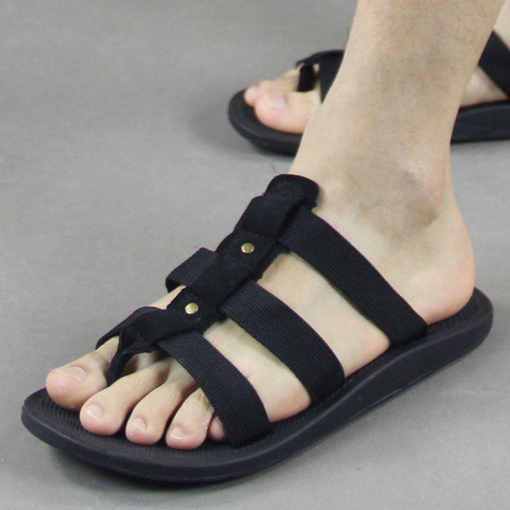 Summer male slippers vietnam shoes beach slippers sandals flip flops flip-flop sandals male $25.38