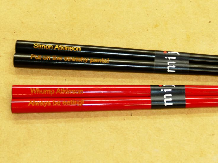 Chopsticks engraved or printed to order 1 pair minimum choose style and enter details for image