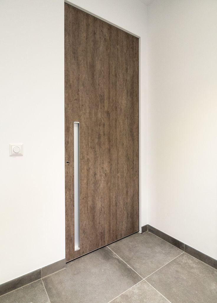 27 best portes int rieures modernes images on pinterest modern interior doors modern design. Black Bedroom Furniture Sets. Home Design Ideas