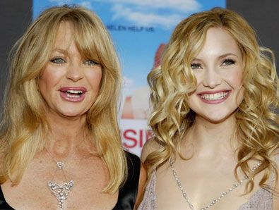 Goldie Hawn News - Madonna and Lourdes, Goldie Hawn and Kate Hudson: Hollywood's Top Mother-Daughter Power Teams (GALLERY) - Celebuzz